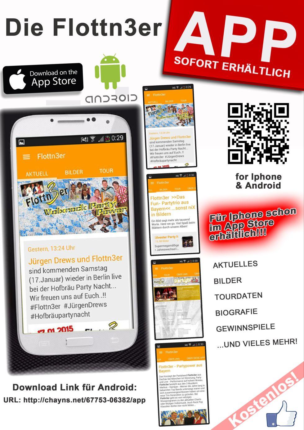 Flottn3er App, App, App von Flottn3er, Smartphone App Flottn3er