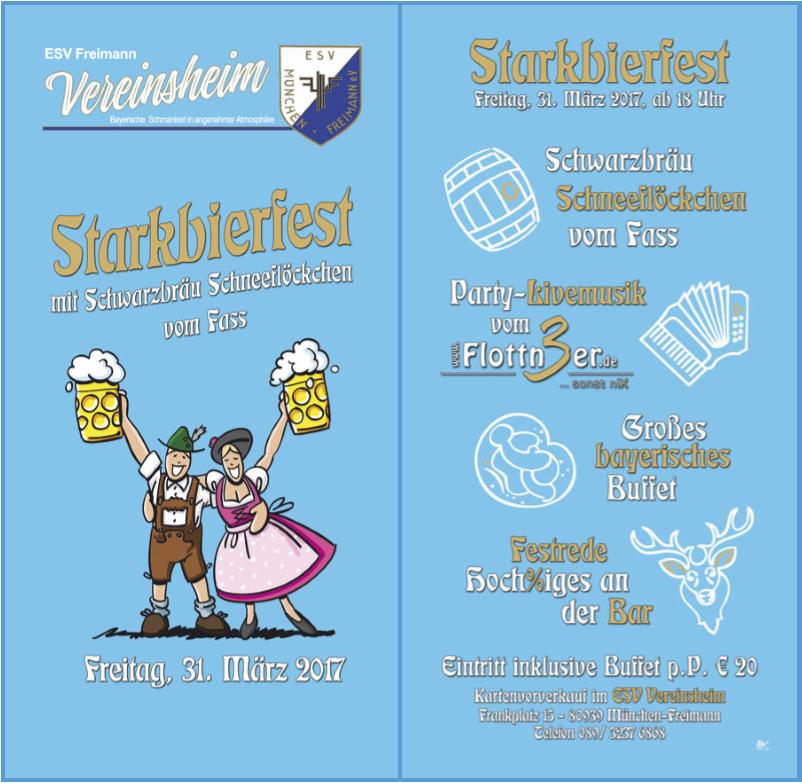Flottn3er, Starkbierfest ESV Freimann, Sportheim ESV Freimann - Starkbier Fest