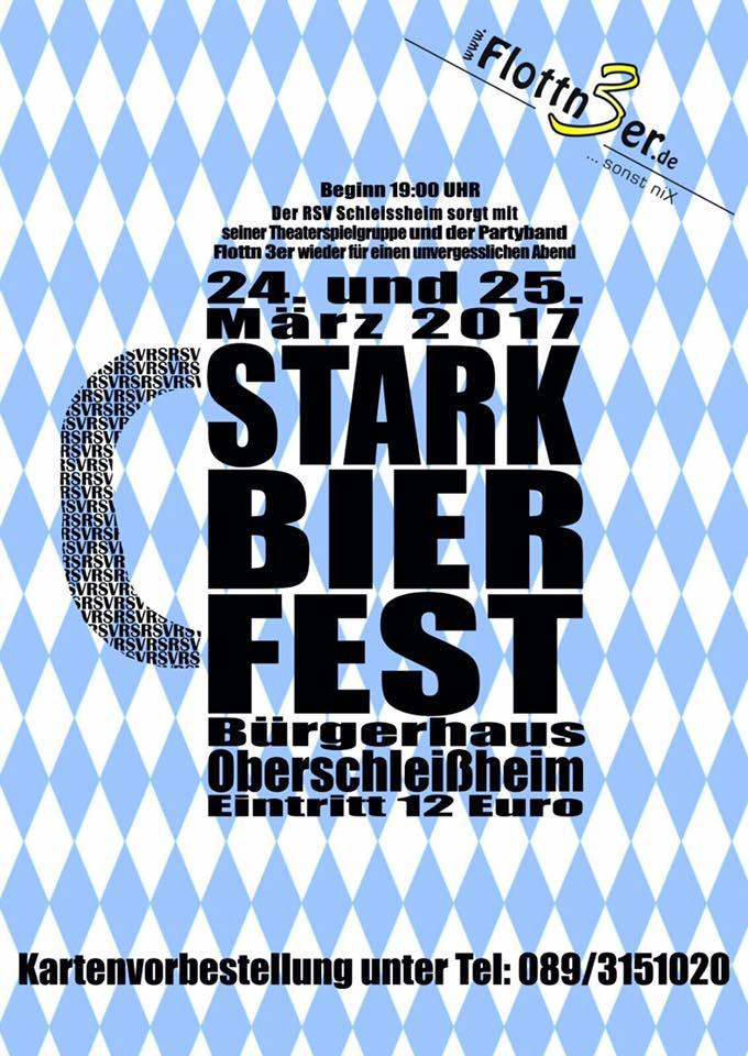 Flottn3er, Starkbierfest RSV Schleissheim, Bürgerhaus Oberschleißheim, Starkbieranstich