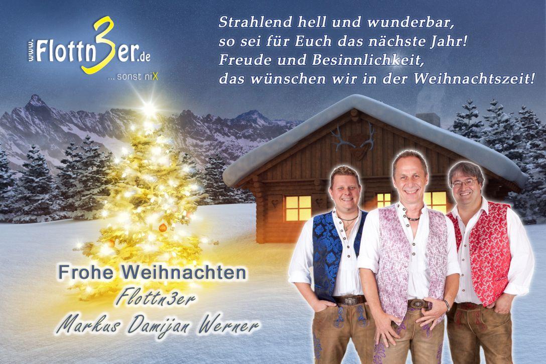 Frohe Weihnachten und einen guten Rutsch - Flottn3er
