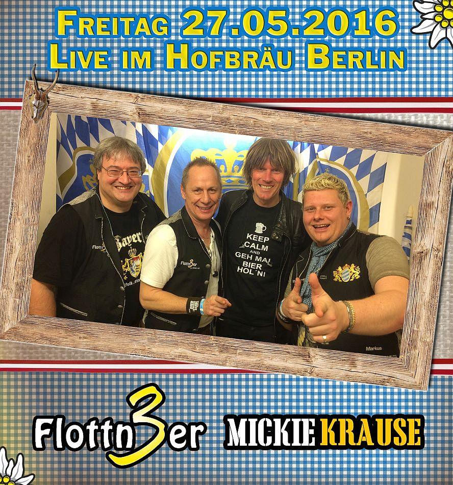 Flottn3er, Mickie Krause, Berlin, Hofbräu Partynacht, Malle